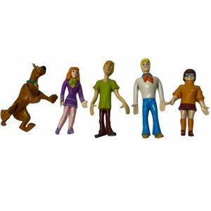 Vintage 90's Collectable Scooby Doo Figurines